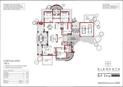 elements golf floorplan A