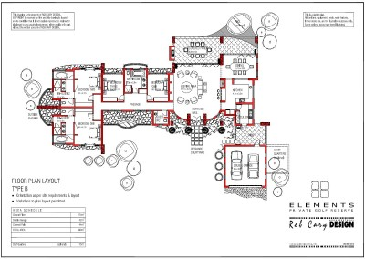 elements golf floorplan B