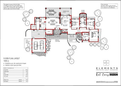 elements golf floorplan C