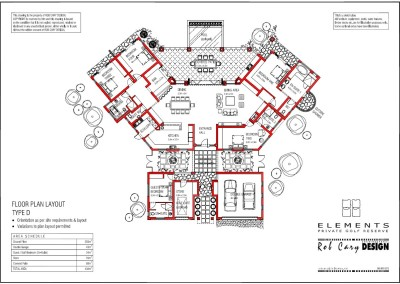 elements golf floorplan D